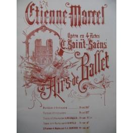 SAINT-SAËNS Camille Etienne Marcel Ballet Orchestre ca1880