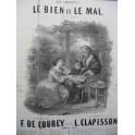 CLAPISSON Louis Le Bien et le Mal Chant Guitare 1853