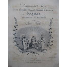 CRAMER J. B. The Favorite Pastoral Nina Dalayrac Piano XIXe