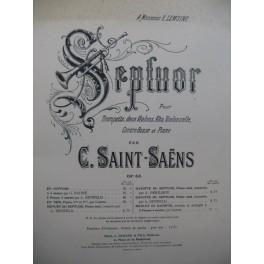 SAINT-SAËNS Camille Septuor op 65 1932