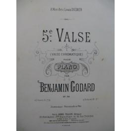 GODARD Benjamin 5e Valse Piano ca1895