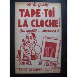 Tape-toi la Cloche ! Jo Tournet Accordéon 1952