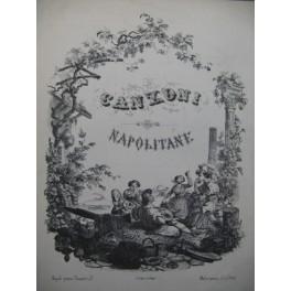 TORRENTE G. La Marenarella Chant Piano XIXe
