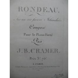 CRAMER J. B Rondeau Piano ca1815