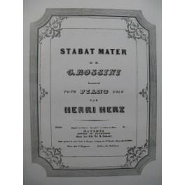 HERZ Henri Stabat Mater Air Piano ca1845