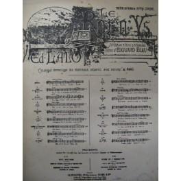 LALO Edouard Le roi d'Ys Aubade chant piano