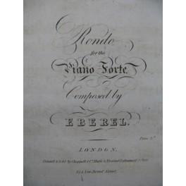 EBEREL Rondo Piano ca1815