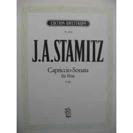 STAMITZ Johann Anton Capriccio Sonata Flûte seule