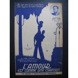 L'Amour est comme une chanson Reda Caire 1938