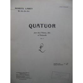 LABEY Marcel Quatuor 2 Violons Alto Violoncelle 1920