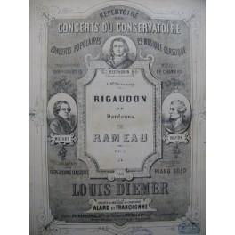 DIEMER Louis Rigaudon Piano ca1870