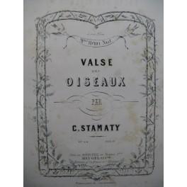 STAMATY Camille Valse des Oiseaux Piano ca1860