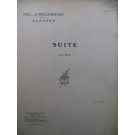 DE MALEINGREAU Paul Suite pour Orgue 1919