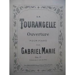 MARIE GABRIEL La Tourangelle Piano XIXe siècle