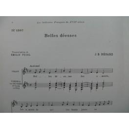 BÉSARD J. B. Belles Déesses Chant Guitare 1962