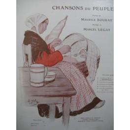 LEGAY Marcel La Chanson de Nivôse Chant Piano