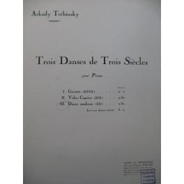 TREBINSKY Arkady Danse moderne Piano 1927