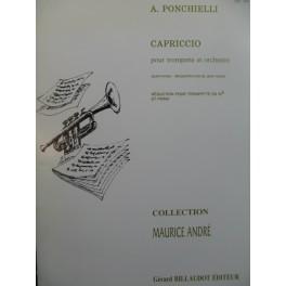 PONCHIELLI Amilcare Capriccio Piano Trompette 1988
