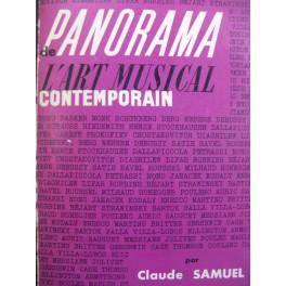 SAMUEL Claude Panorama de l'Art Musical Contemporain 1962
