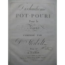 STEIBELT Daniel Pot Pouri Piano ca1810
