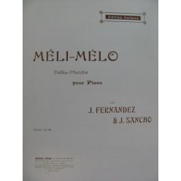 FERDANDEZ J. & SANCHO J. Méli Mélo Piano