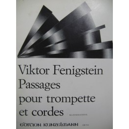 FENIGSTEIN Victor Passages Piano Trompette 1981