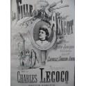 LECOCQ Charles La Fille de Madame Angot Opera Piano seul ca1873