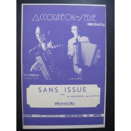 Sans Issue Valse Prud'homme Accordéon 1950