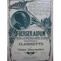 CHARMETTES Victor Berger Album 20 Pièces Clarinette ca1900