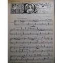 Piano Soleil N° 22 Juin 1894 Vigneaux Bach