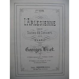 BIZET Georges L'Arlesienne 1e Suite Piano 4 mains ca1880