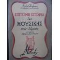 DUFOURCQ Norbert Petite Histoire de la Musique en Europe Grec 1947