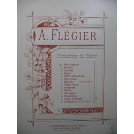 FLEGIER A. Andantino Piano ca1900