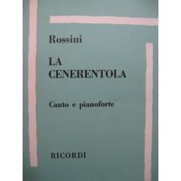 ROSSINI G. La Cenerentola Opéra Chant Piano 1977