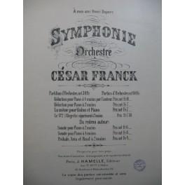 FRANCK César Symphonie Piano ca1900