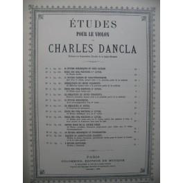 DANCLA Charles Petite école de la double corde op 192 Violon 1892