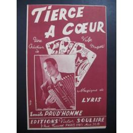 Tierce à Coeur Emile Prud'homme Accordéon