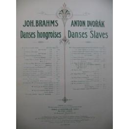 DVORAK Anton Danses Slaves op 46 Cahier 2 Piano 4 mains ca1877