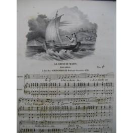 La Brise du Matin Barcarole Chant Piano ca1830