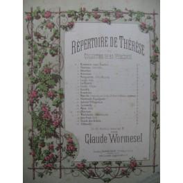WORMESEL Claude Marche des Bambin Piano XIXe siècle