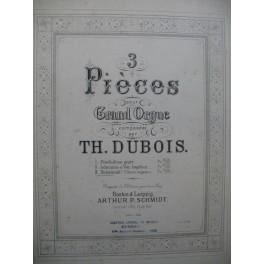 DUBOIS Théodore Hosannah Orgue 1890