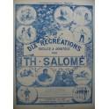 SALOME Théodore Dix Récréations Piano 1926