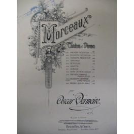 VERMEIRE Oscar 2e Romance violon piano