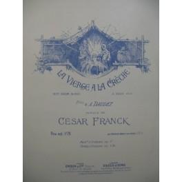 FRANCK César La Vierge à l'Enfant Chant Piano 1888