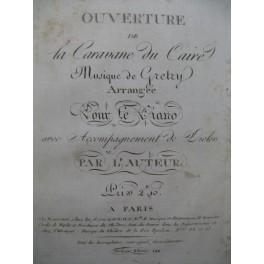 GRÉTRY La Caravane du Caire Ouverture Piano XVIIIe