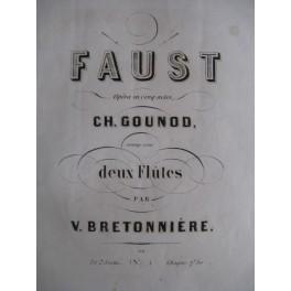 BRETONNIÈRE Victor Faust Charles Gounod