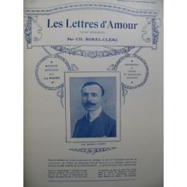 BOREL-CLERC Ch Les Lettres d'Amour Piano