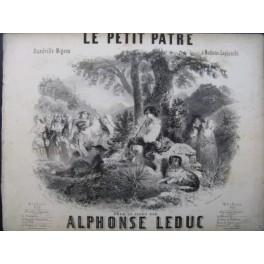 LEDUC Alphonse Le Petit Pâtre Piano 1850