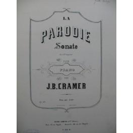 CRAMER J. B. La Parodie Piano