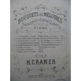 CRAMER Henri Si j'étais Roi Piano 1887